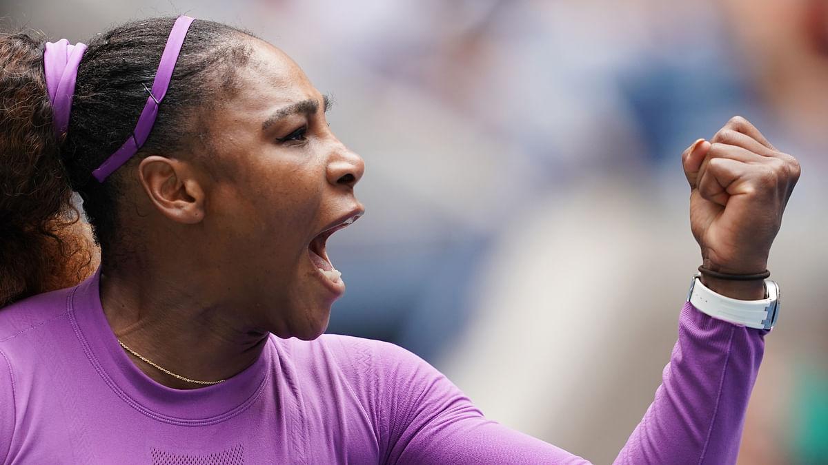 Serena Williams rolls into semis with 100th US Open win
