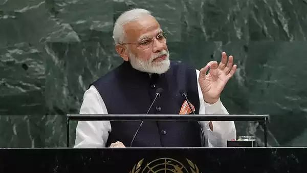At UNGA, 'I' specialist Modi claims his govt's schemes model for whole world