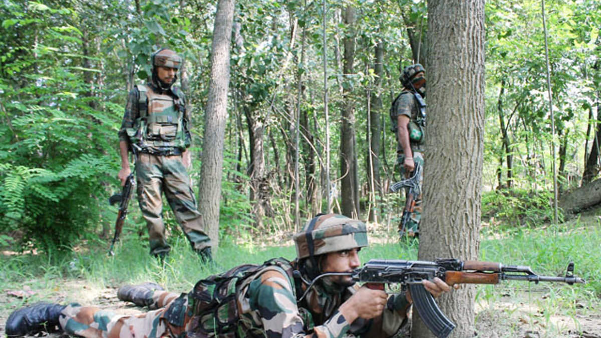 WATCH: Indian Army foils infiltration attempt by terrorists near LoC