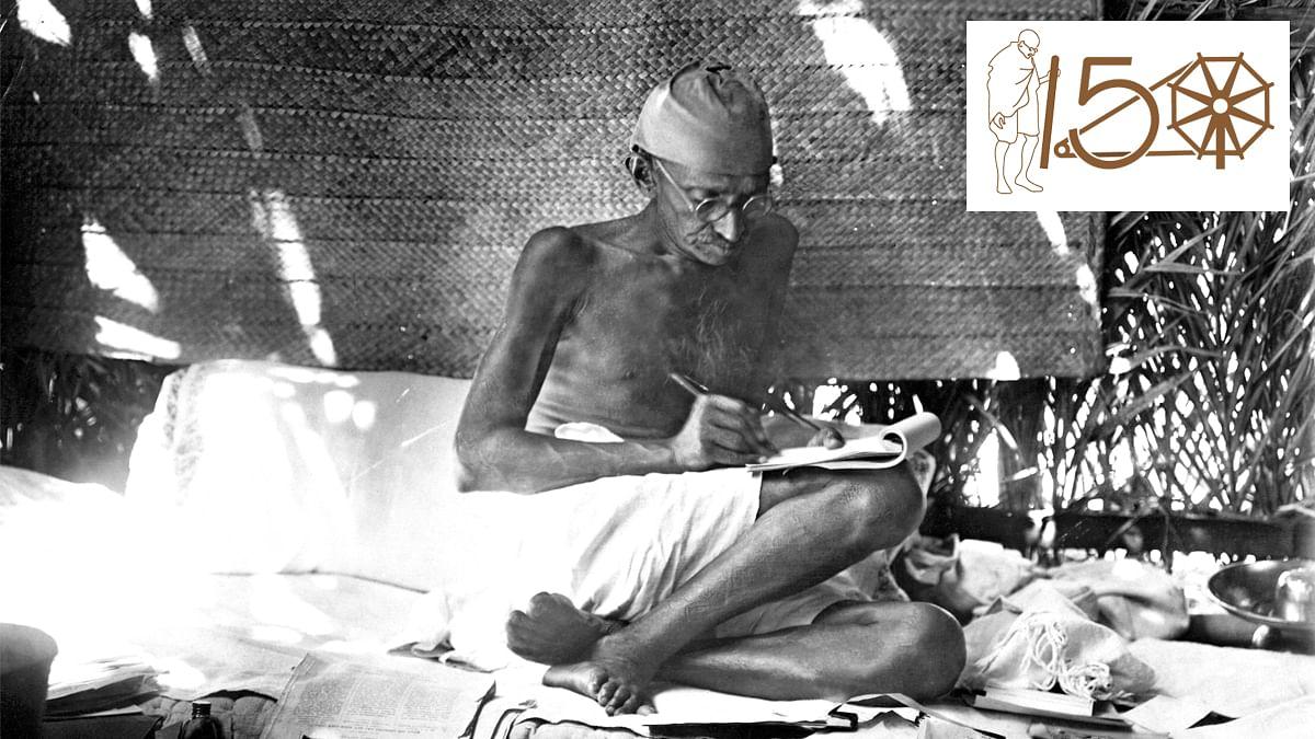 Mahatma Gandhi wrote to convey, not to impress