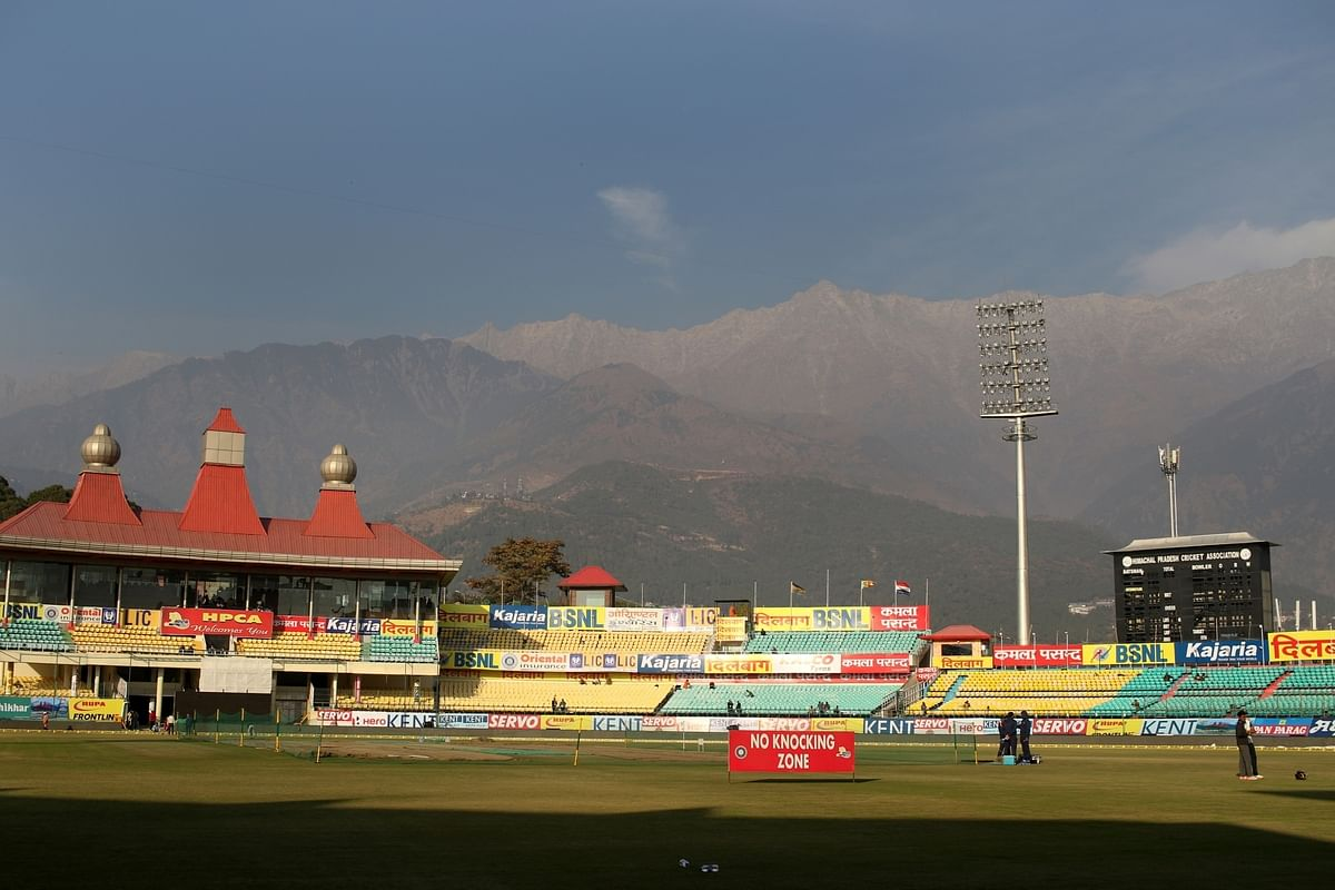 It's more than cricket this weekend in Dharamsala!