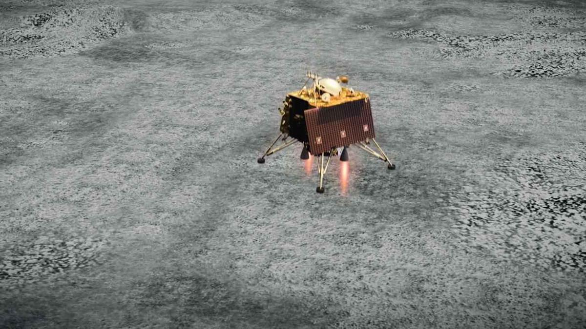 'NASA analysing images of Chandrayaan-2's landing site'