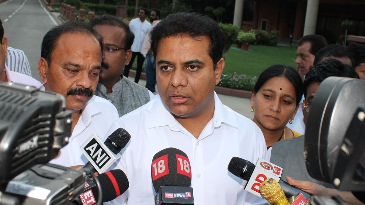 No funds received from Centre for Hyderabad ITIR: KTR