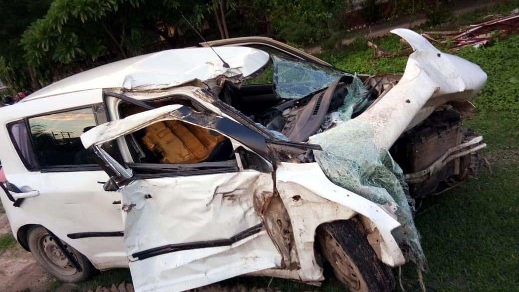 Unnao Rape Case car crash