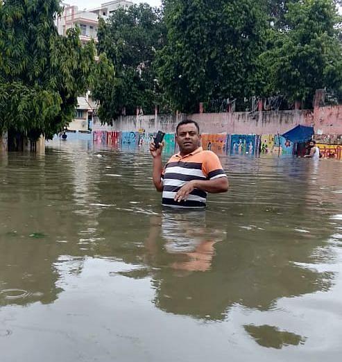 WATCH: Patna flooded after incessant rains #BiharRains