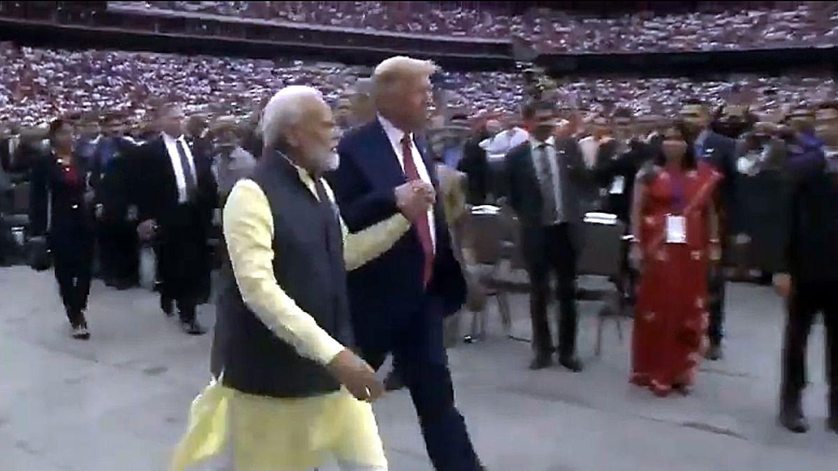 Trump tries to reset optics for 2020 via 'Howdy Modi'