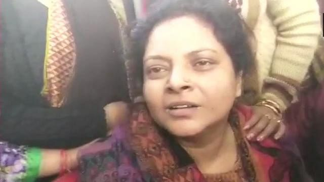 These people better kill me, says slain Inspector Subodh's wife as main accused gets bail