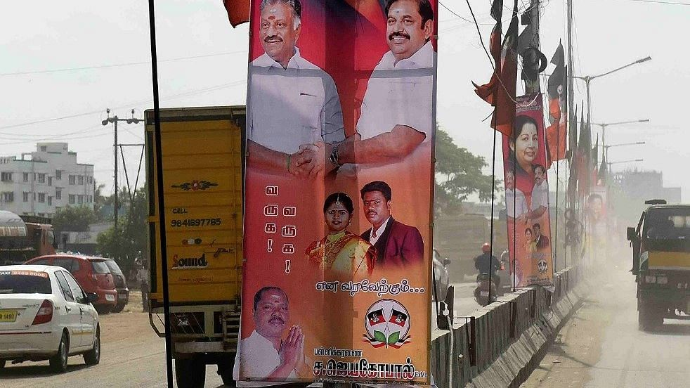 Not even a month post a death due to illegal hoarding, Madras HC allows AIADMK and BJP  to erect banners