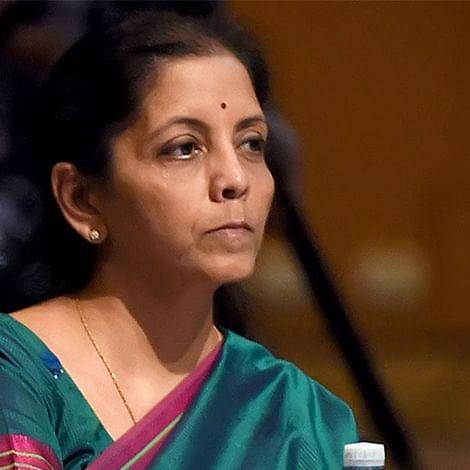 Union Finance Minister Nirmala Sitharaman.