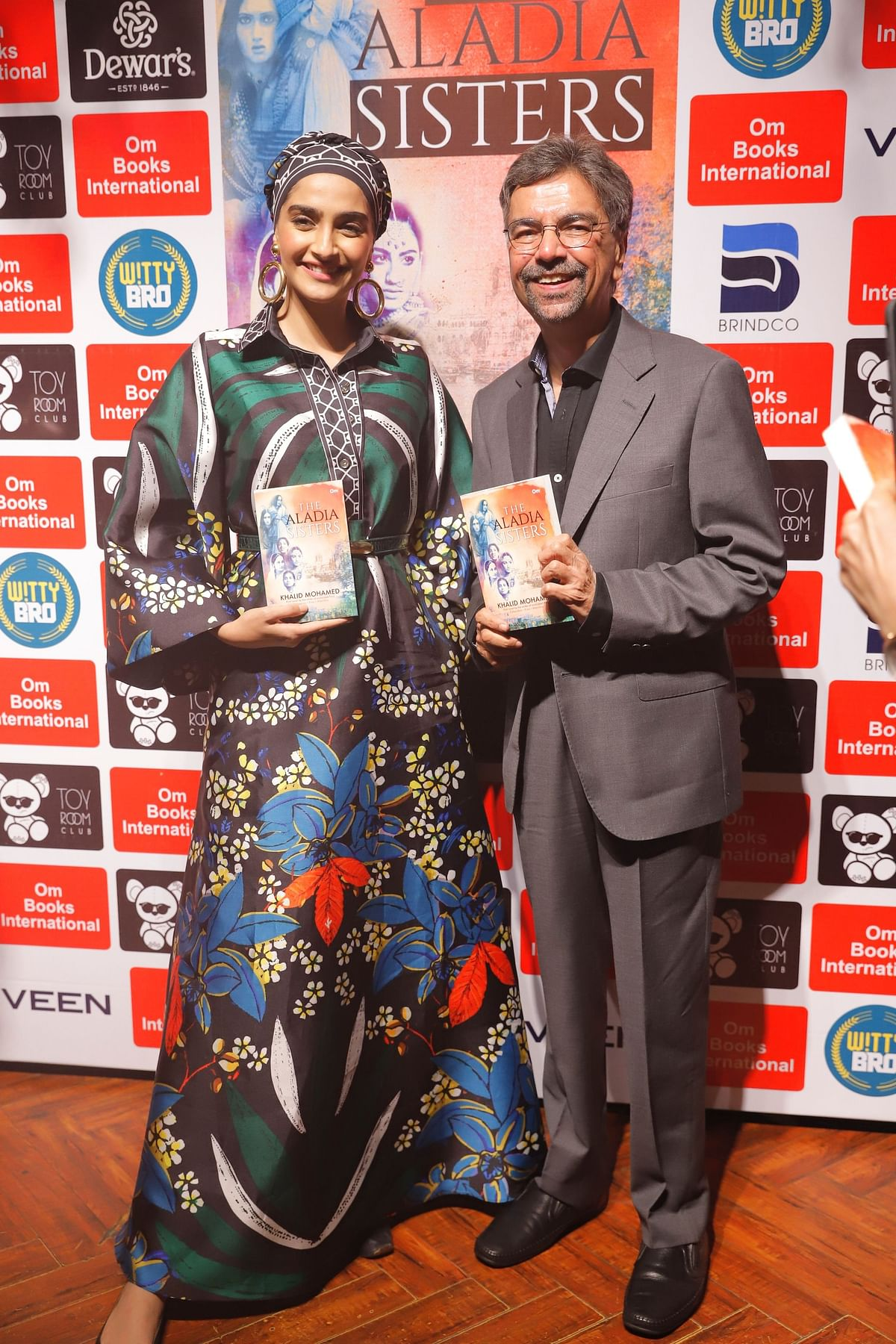 Khalid Mohamed's debut novel 'The Aladia Sisters' launched by Sonam K Ahuja in Delhi