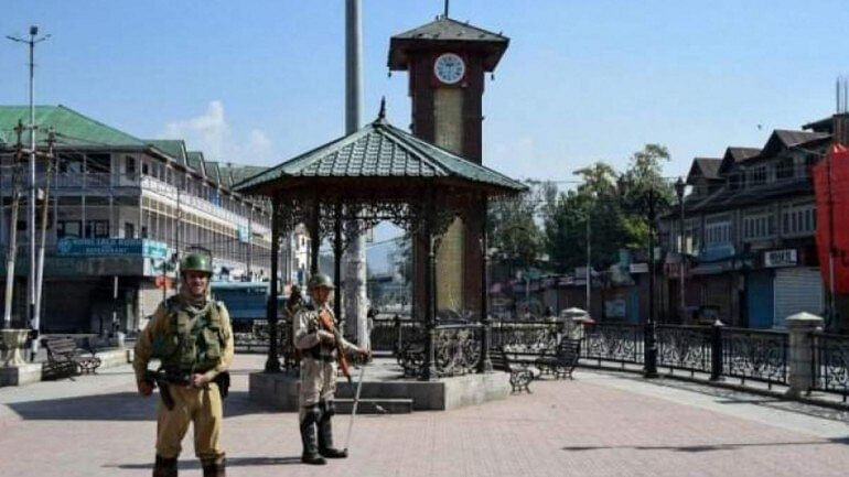 Lal Chowk, Srinagar (PTI photo)