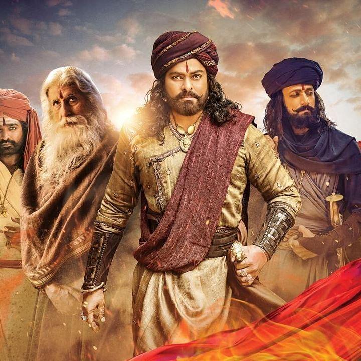 Syeraa Narasimha Reddy movie poster