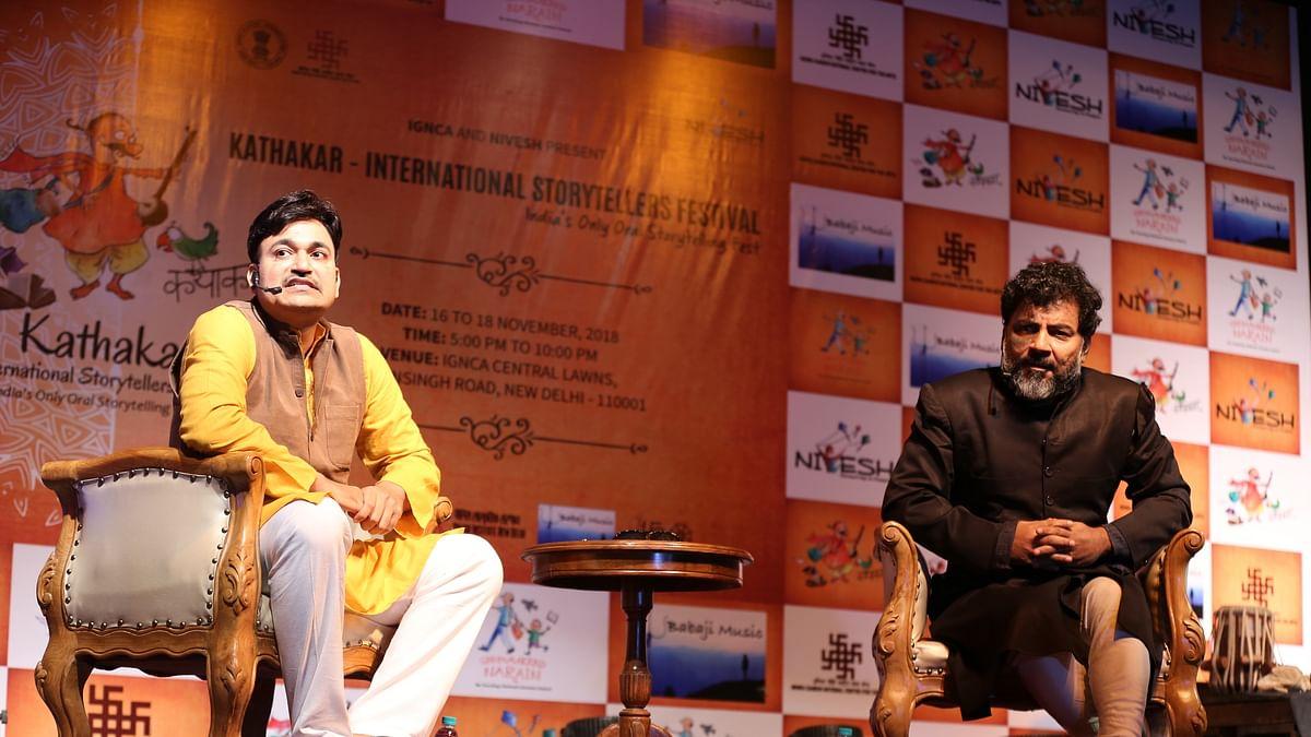Sneak peek into 'Kathakar 2019', India's only oral storytelling festival