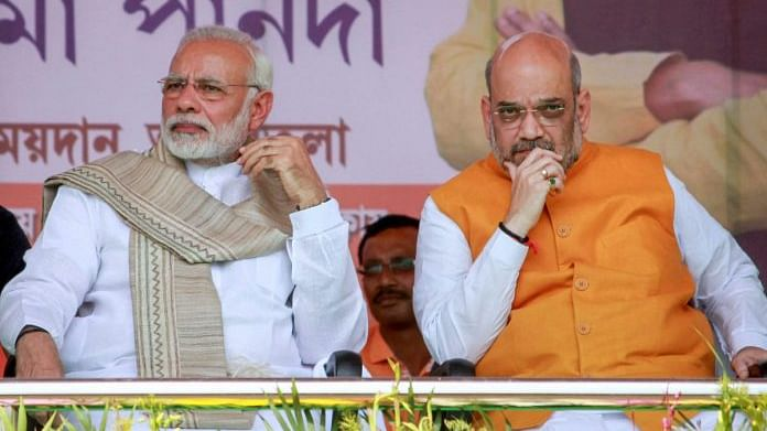 PM Narendra Modi and , Home Minister Amit Shah (PTI file photo)