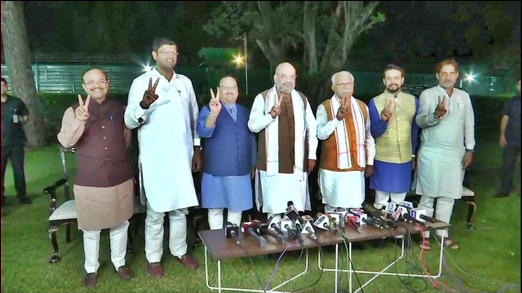 BJP-JJP seal Haryana deal, Dushyant to be Deputy CM