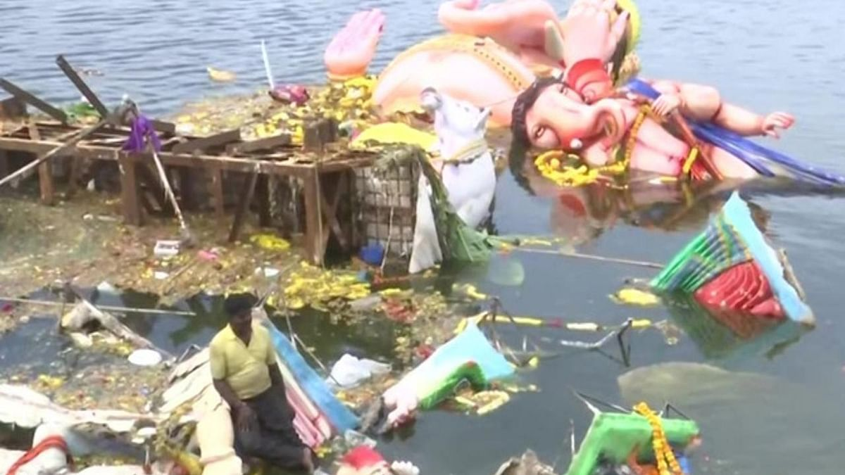 Fine up to ₹50,000 to be imposed for immersion of idols in River Ganga or its tributaries