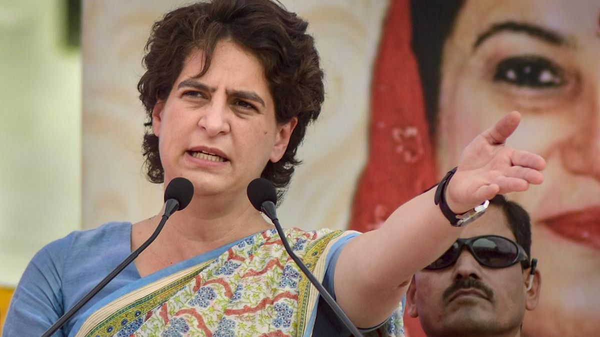 Yogi govt remembers farmers only in advertisements, says Priyanka Gandhi