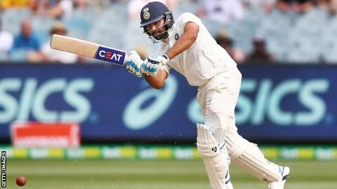 3rd Test: Rohit Sharma breaks record for hitting  most number of sixes in a bilateral Test series
