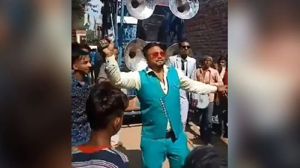 WATCH: Man brandishes gun as he dances in a wedding, arrested