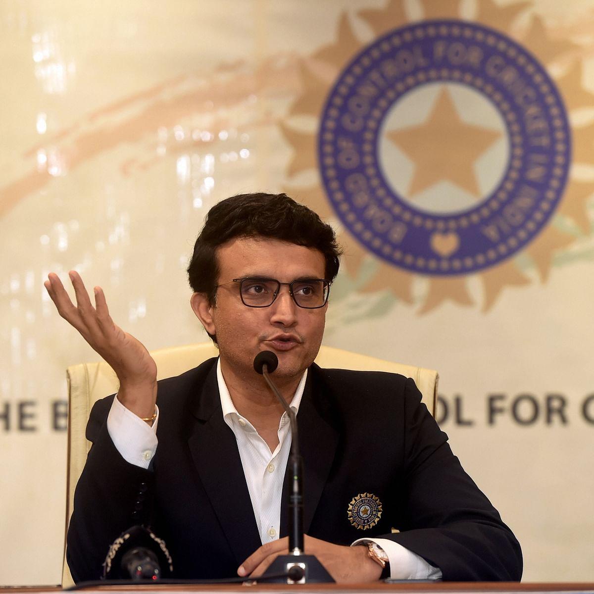 BCCI President Sourav Ganguly (PTI Photo-File)