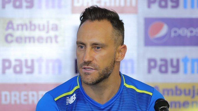 Score heavy in first innings in Ranchi, says Faf du Plessis tells South Africa  batsmen