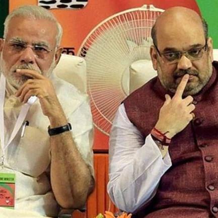 PM Narendra Modi and Home Minister Amit Shah.