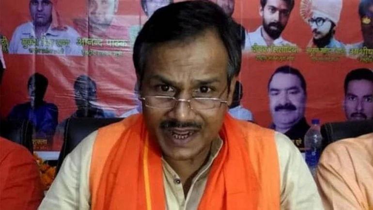 A file photo of  Kamlesh Tiwari