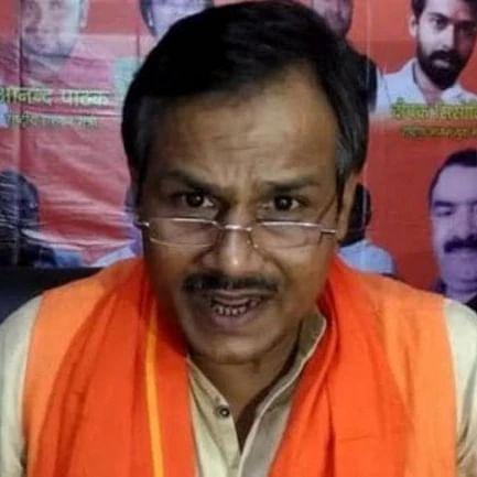 A file photo of Hindu Samaj Party leader Kamlesh Tiwari