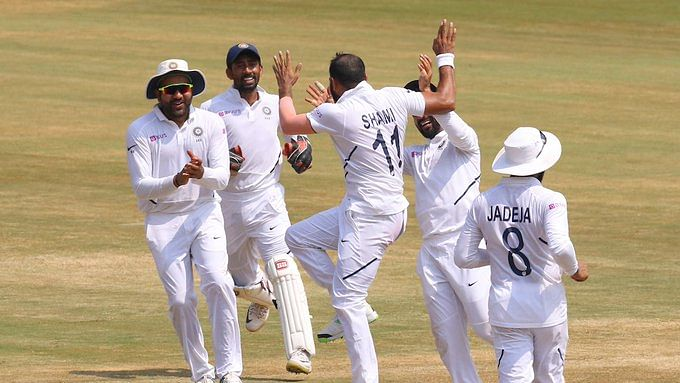 India defeats South Africa by 203 runs in the first test