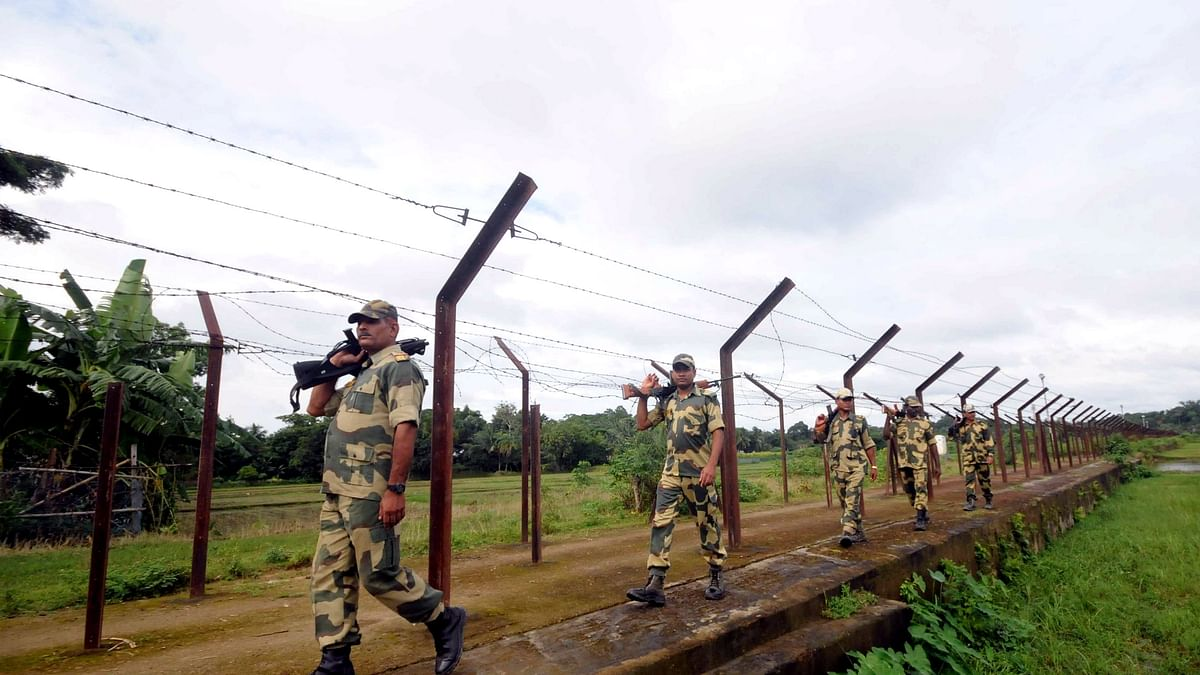 Flying object repulsed by BSF at India-Pakistan border in Jammu