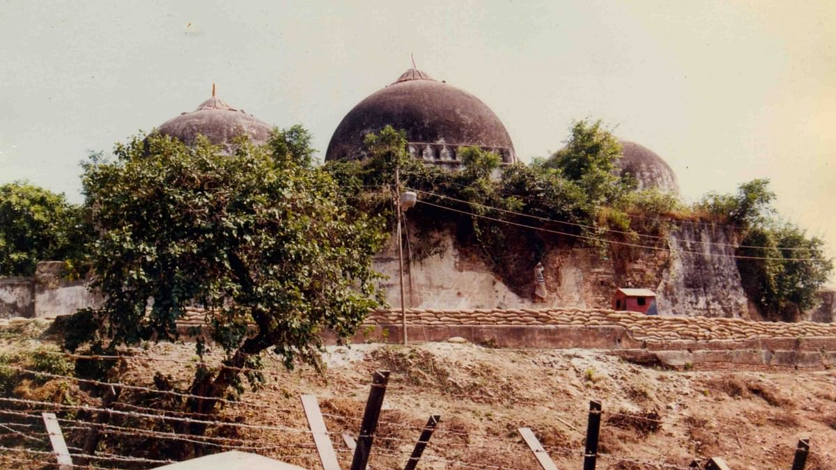 Babri Masjid (IANS Photo)
