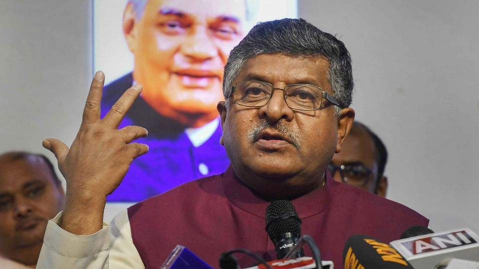 Economy is fine as 30 lakh people watched 3 films on October 2: Ravi Shankar Prasad