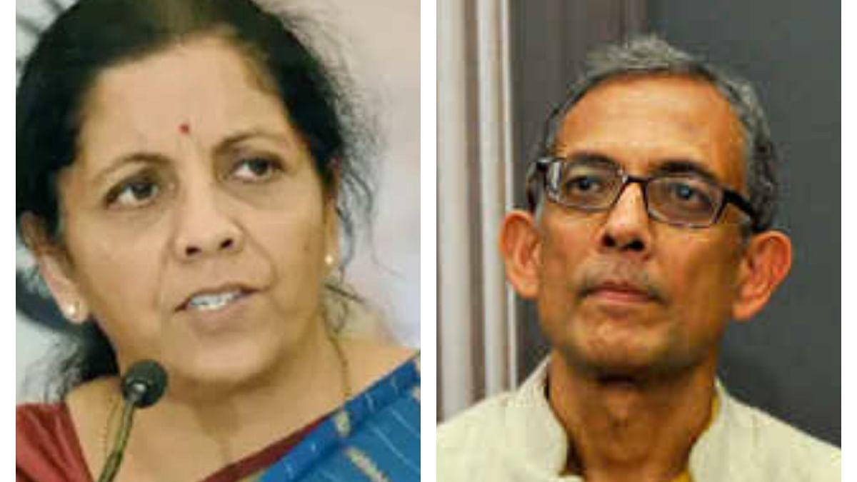 Nirmala Sitharaman and Abhijit Banerjee