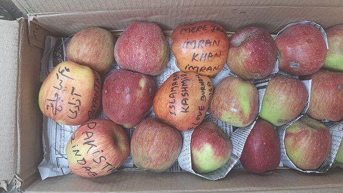 Apple from Kashmir (Photo courtesy: Twitter)