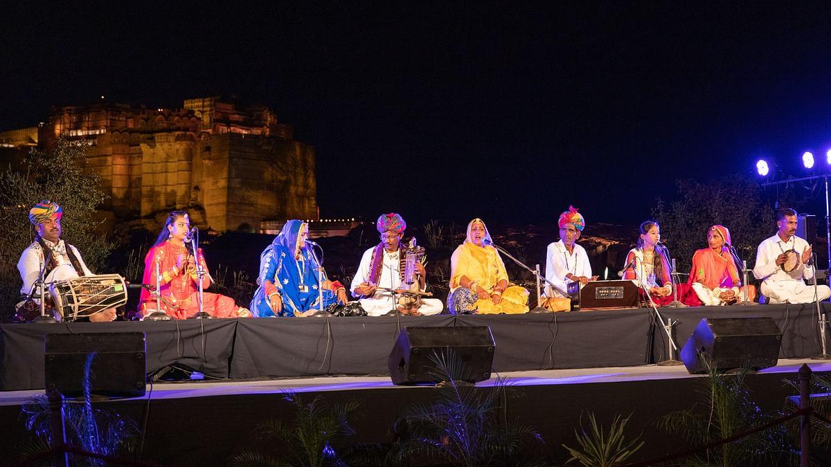 Rajasthan International Folk Festival 2019 opens with great fervor and panache in Jodhpur
