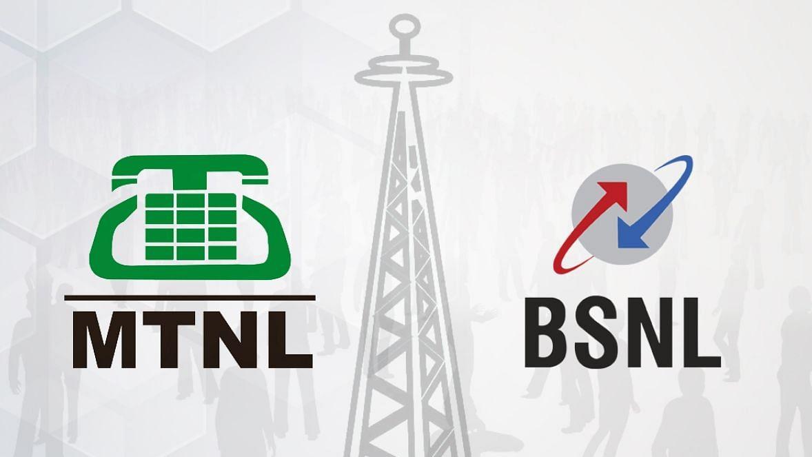 MTNL and BSNL logos (Photo courtesy: social media)