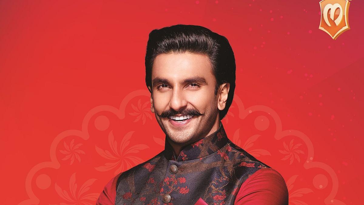 Ranveer Singh becomes the new face of Manyavar