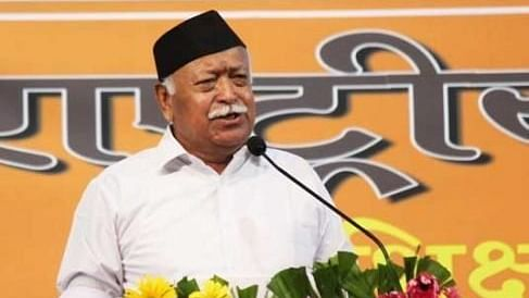 RSS chief Mohan Bhagwat (file photo)