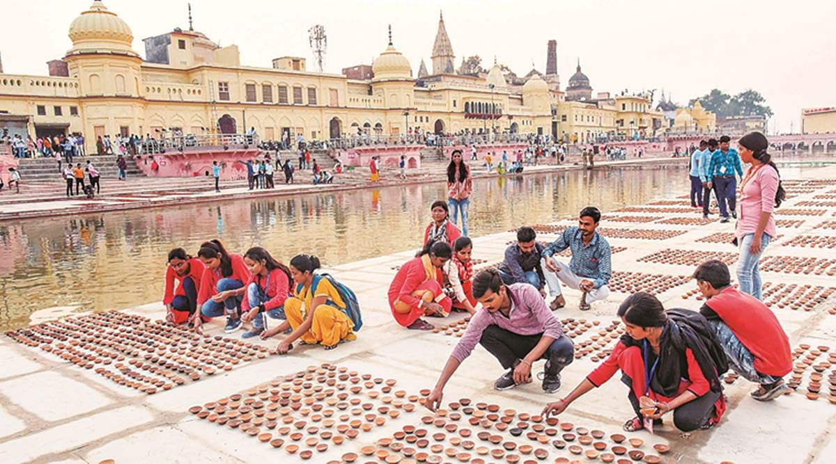 Fund-starved Yogi govt hikes budget for 'Deepotsava' from ₹24 Cr to ₹133 Cr