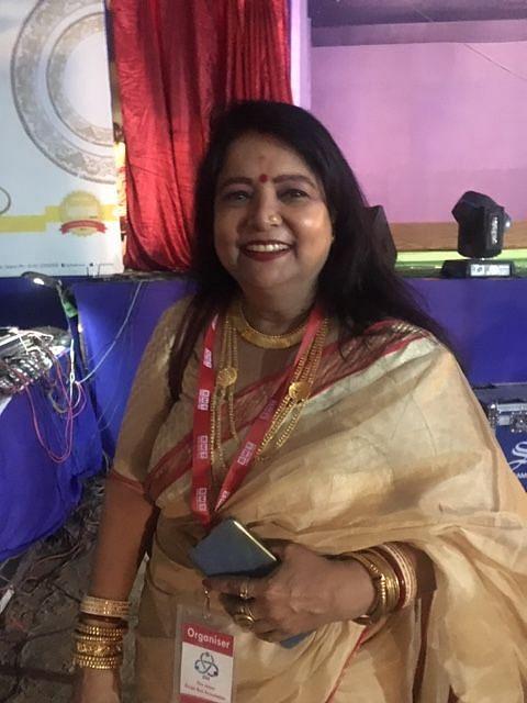 Mita Guha, organiser of DurgaBadi Durga Puja, one of the oldest puja of Jaipur (NH Photo)