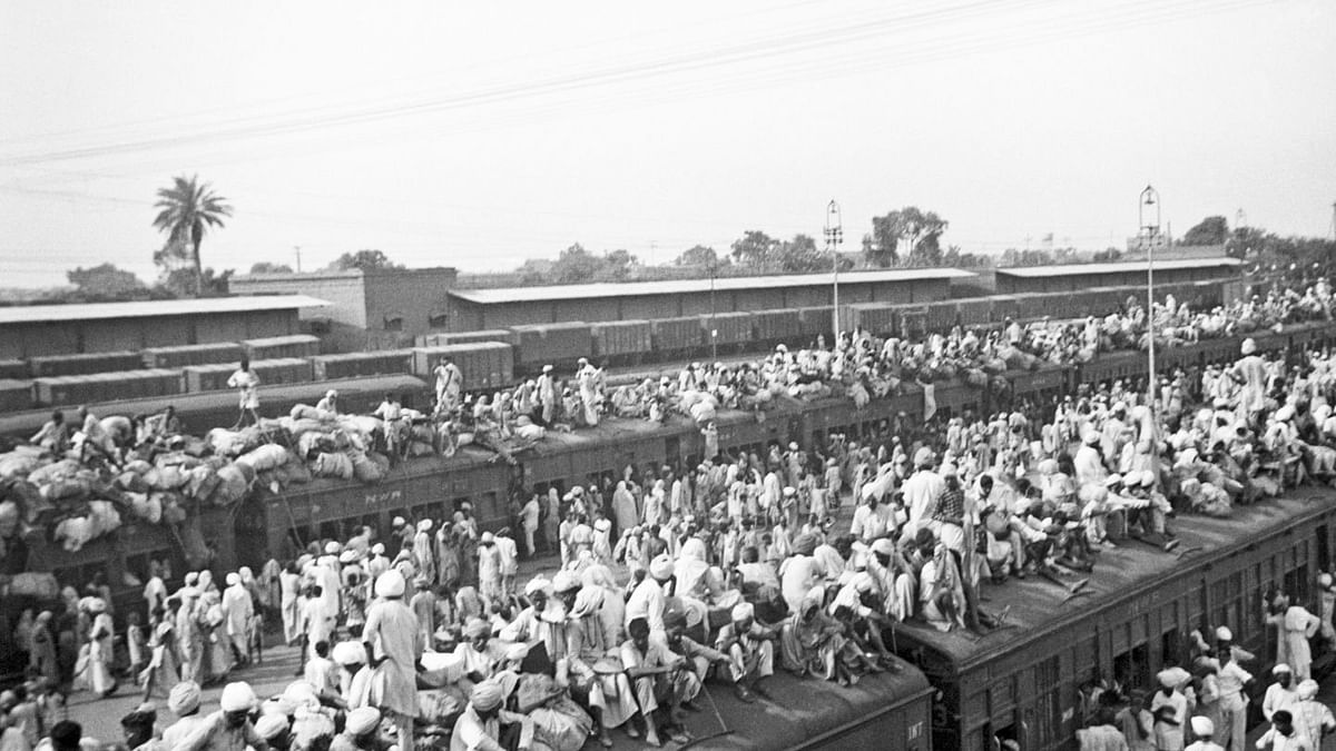 Why did Gandhi accept Partition?
