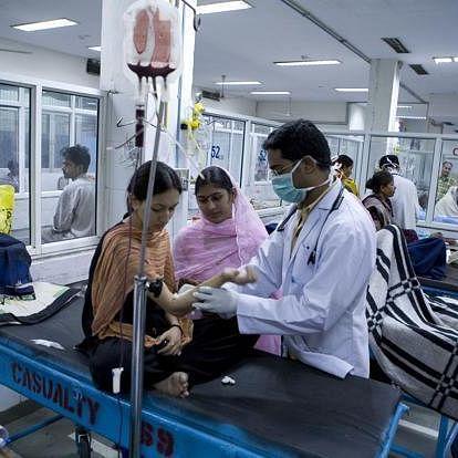 Uttar Pradesh hospital (Photo courtesy: social media)
