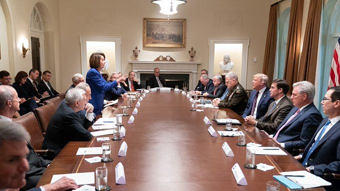 US politics at new low as Trump, Pelosi indulge in war of words over Syria
