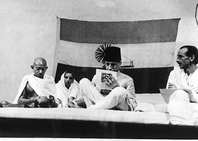 The Maulana on the Mahatma
