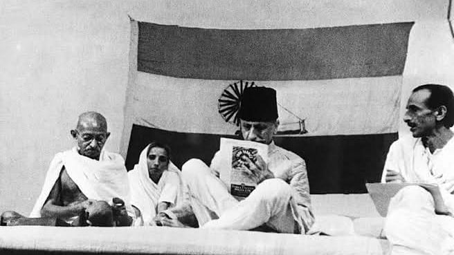 The Maulana on the Mahatma