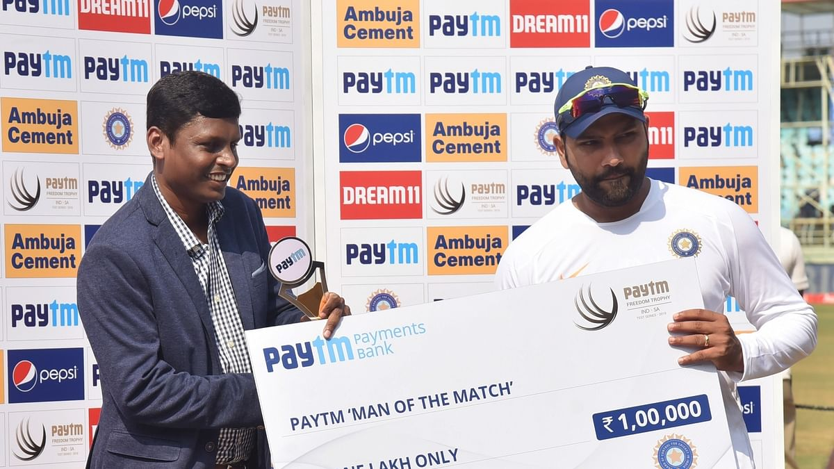Focus was to have fun and put team in good position: Rohit