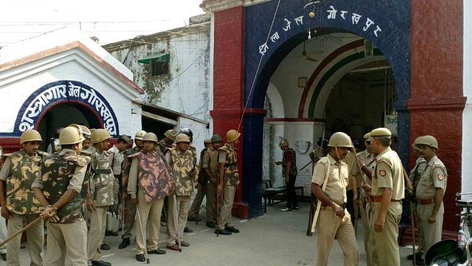 Violence in Gorakhpur jail as inmates protest