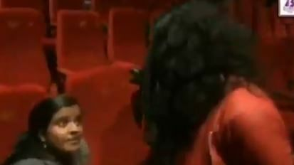 Row over youth castigated for not standing up during national anthem in cinema hall