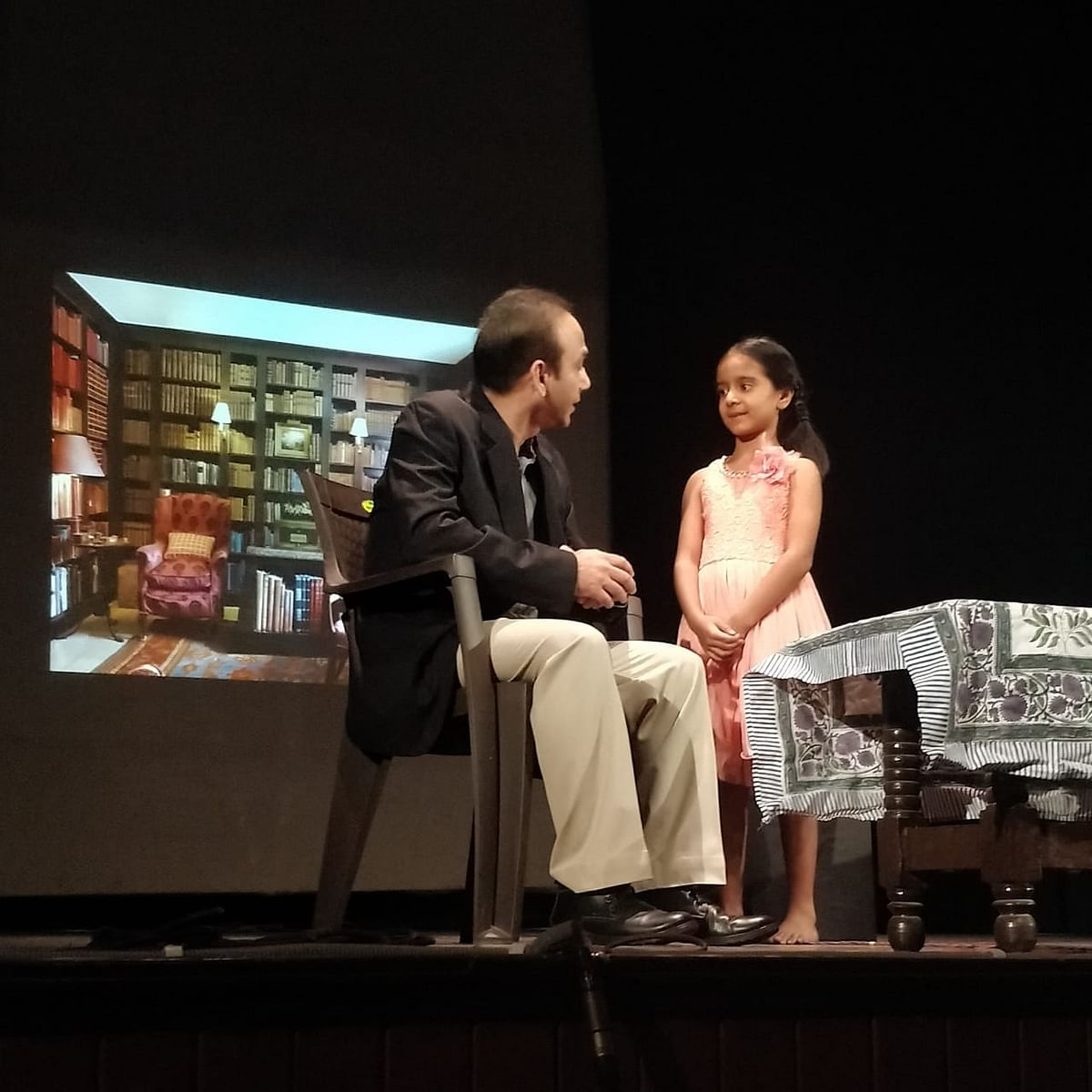 A scene from the play (NH Photo)