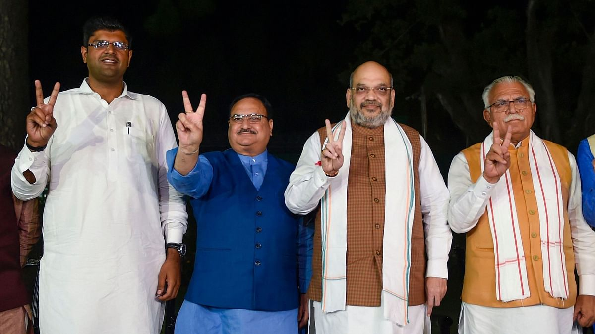 BJP allies with JJP, regional party to get Deputy CM post